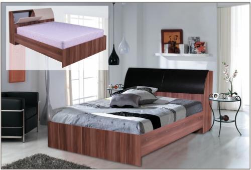 Кровать с боксом