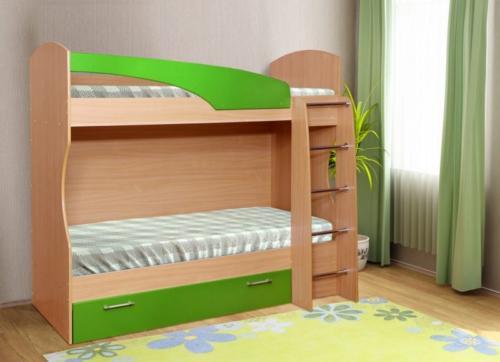Кровать с двухъярусная