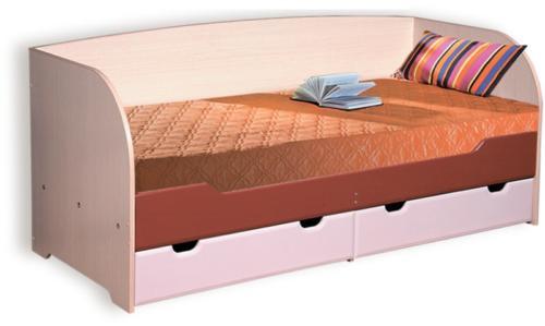 Кровать с ящиками a-4