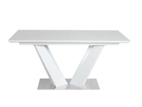 Стол  ATLANT  super white (экстра белое сатин стекло) table1