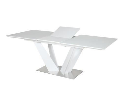 Стол  ATLANT  super white (экстра белое сатин стекло) table2