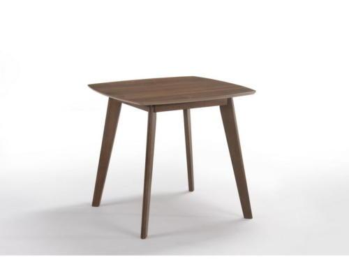 Стол  MOROCCO (800x800x750) WALNUT (орех)
