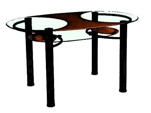 стол В-181 orange