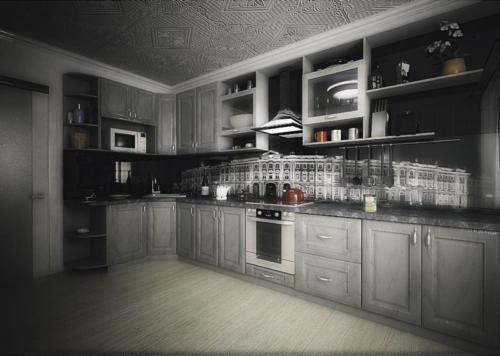 Кухня МДФ 16