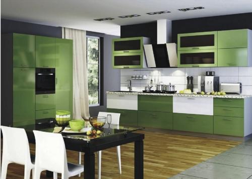 Кухня МДФ 7