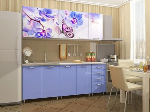 Кухня с фотопечатью-002