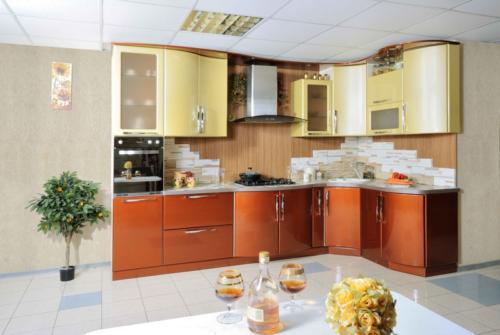 Кухни Эмаль 16