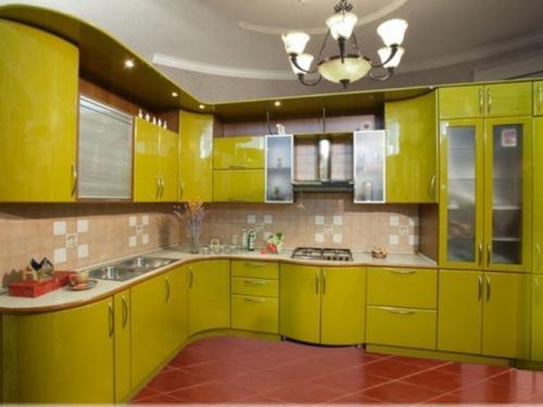 Кухни Эмаль 9
